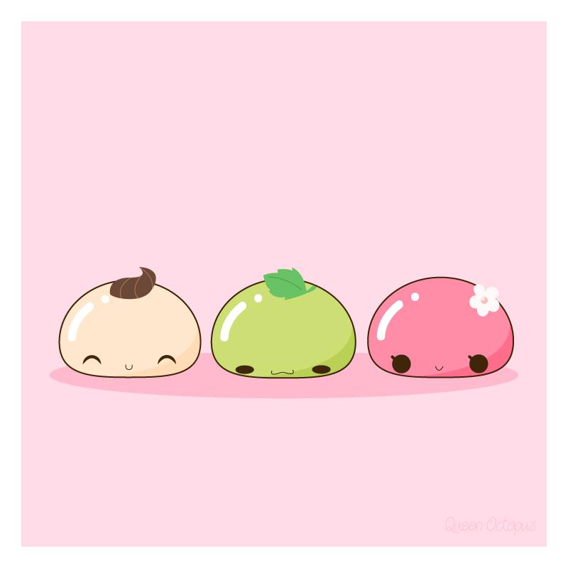 sweet mochi by CrazyLleH
