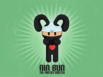 nin bun by CrazyLleH