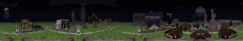 Block City Panorama 8/12/13 by ArchdukeQWA