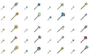 Pixel Staffs Pt1