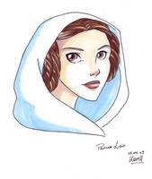 Princess Leia by coda-leia