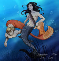 Tahnn and Nar by coda-leia