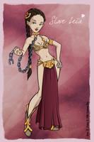 Slave Leia by coda-leia