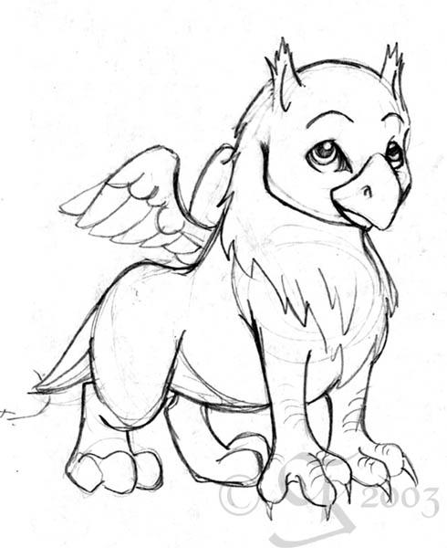 Cool Drawings Of Baby Dragons Gryff By Coda leia