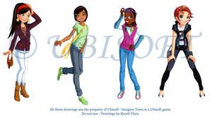 Ubisoft girls 2 by coda-leia