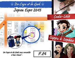 De Cape et De Geek - Japan Expo 2015 by coda-leia