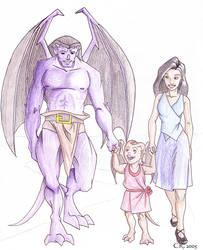 MGC : Gargoyles Baby by coda-leia