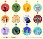 Zodiac Gargoyles