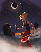 Buffy The Vampire Slayer by coda-leia