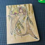 Notebook cover : mermaid