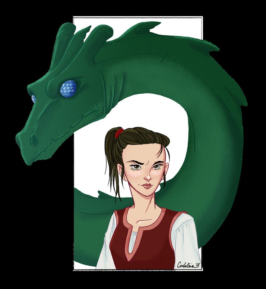Greenrider : Azar and Lirath by coda-leia