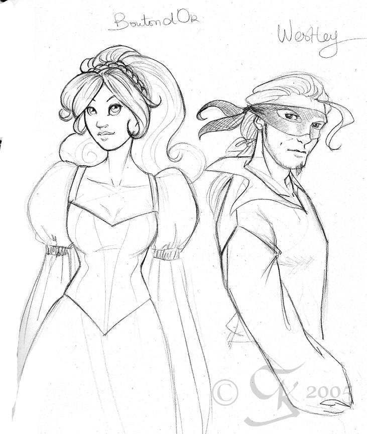 coloring pages princess bride - photo#3