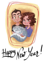 Happy New Year 2019 ! by coda-leia