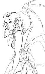 Melusine, my garg chara by codaleia
