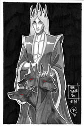 Inktober 2020 - Day 31 : Hades