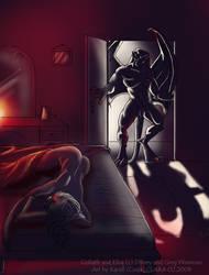 Nocturnal Visit take 2 by coda-leia