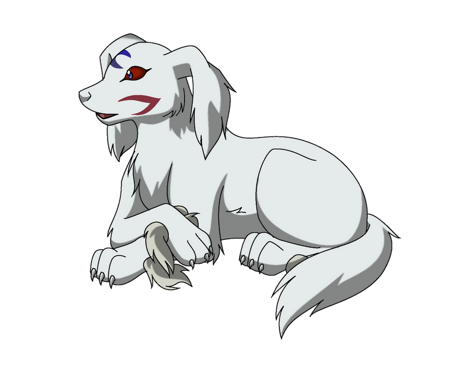 Puppy Sesshomaru by Inumaru101 on DeviantArt