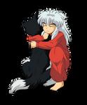 Inuyasha and His Dog