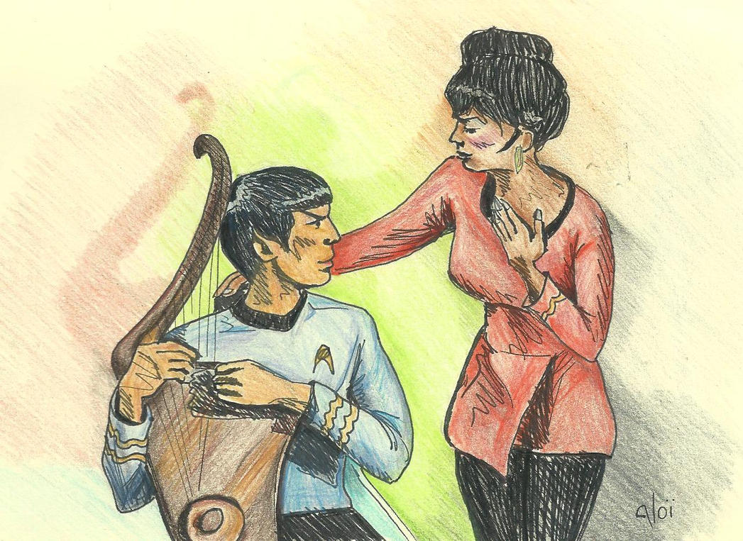 Uhura's song to Spock [TOS - Charlie X] by AloiInTheSky