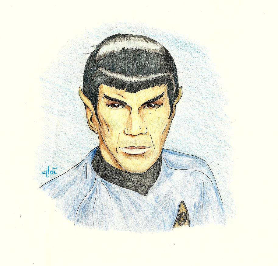 Blue [Spock] by AloiInTheSky