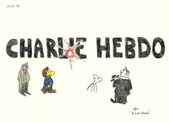 Mourning for Charlie Hebdo [I am Charlie] by AloiInTheSky