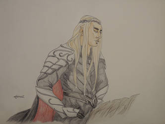 Pondering [King Thranduil] by AloiInTheSky