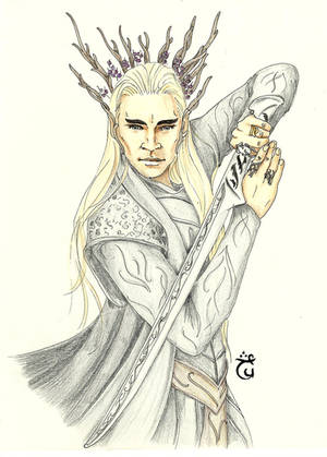 First Sight [Thranduil] by AloiInTheSky