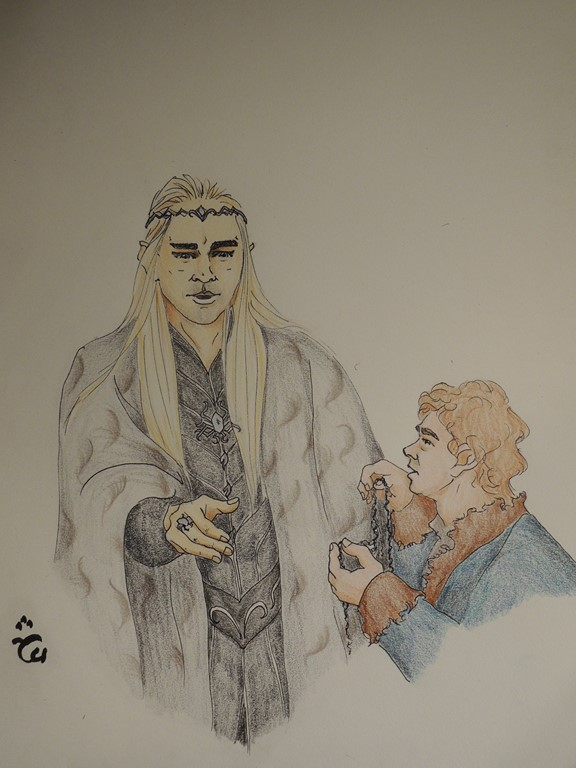 An Unexpected Gift The Hobbit By Aloiinthesky On Deviantart