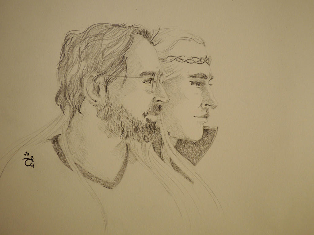 Togetherness [Joe and Thranduil] by AloiInTheSky