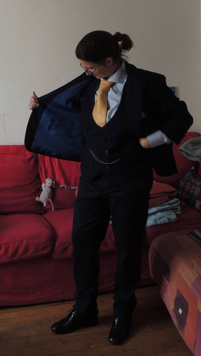 MyCroft Cosplay : Jacket is finished! by AloiInTheSky