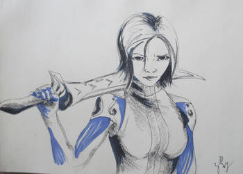 Alita [Battle Angel] by AloiInTheSky
