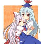 Mokou and Keine