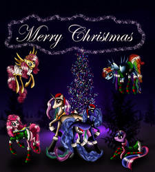 Merry Christmas by MalaMi95