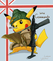 British Commando by LuckyPupa
