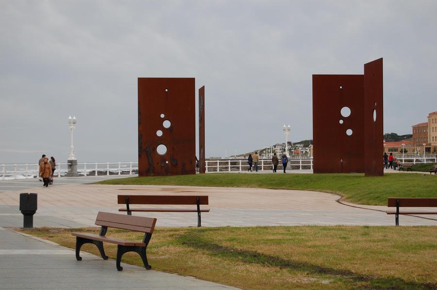 esculturas Fernando Alba Gijón