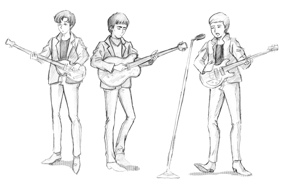 Some Hamburg Beatles rubbish... by ayumi58