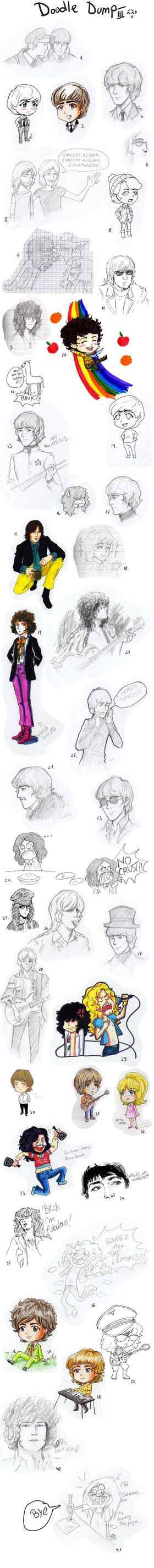 Classic Rock doodle dump by ayumi58