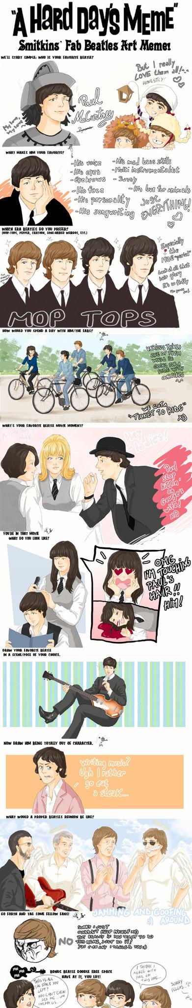 The Beatles meme by ayumi58
