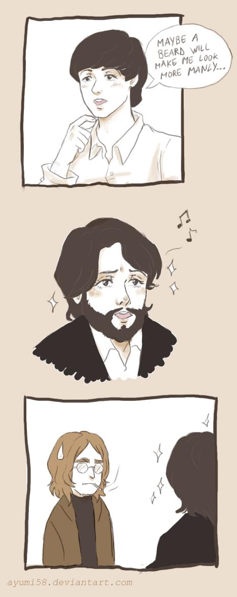 Paul McCartney Androgynous