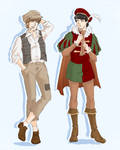 JP AU: The Prince and the Pauper