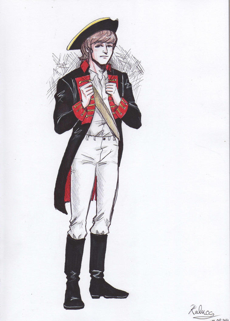 AU: Military John by ayumi58