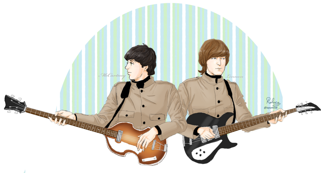 Lennon/McCartney by ayumi58