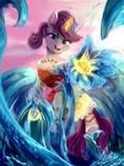 Sea princess (Moana+OC fusion)