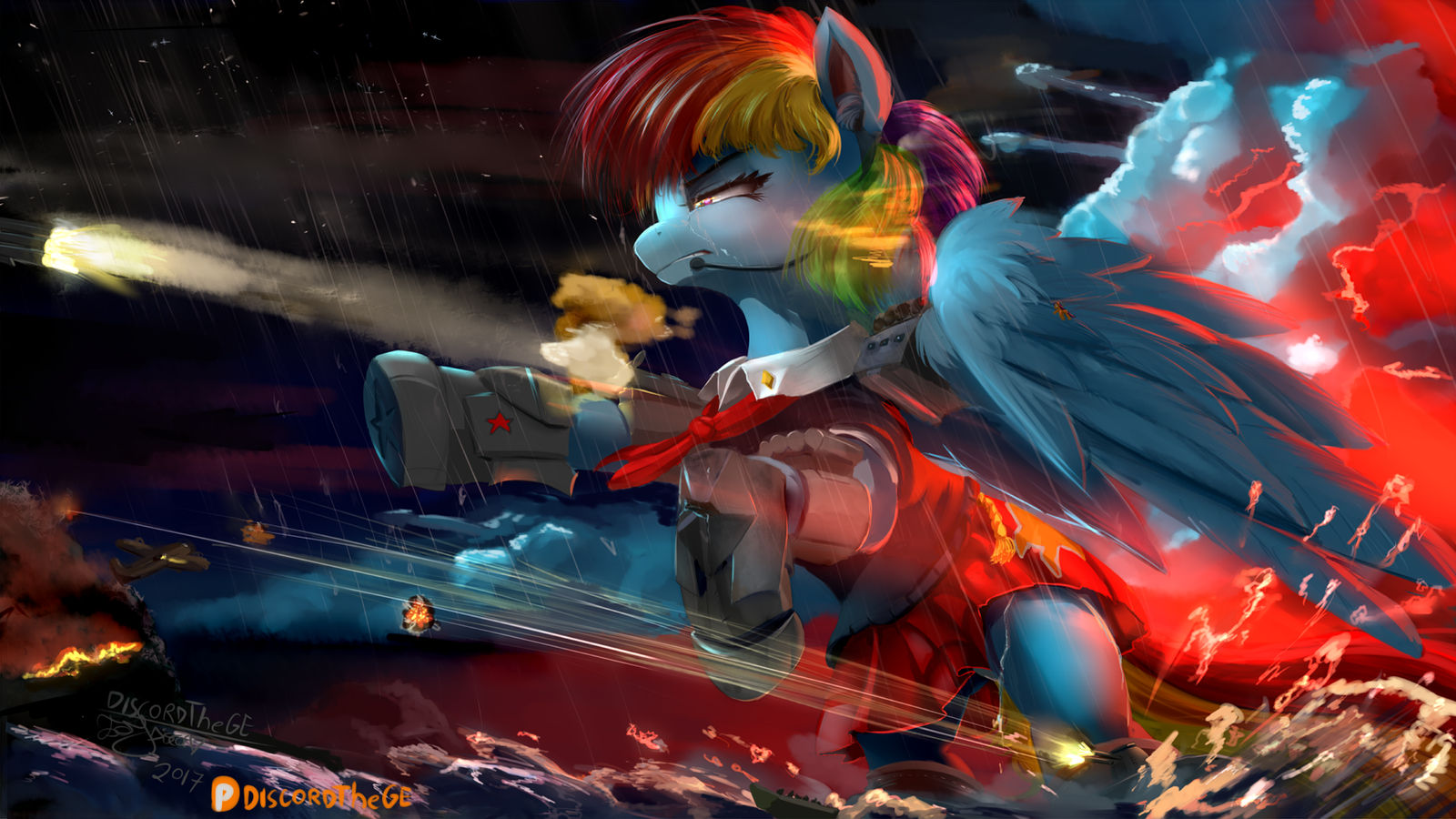 The truce will never be known (Rainbow Kirov)