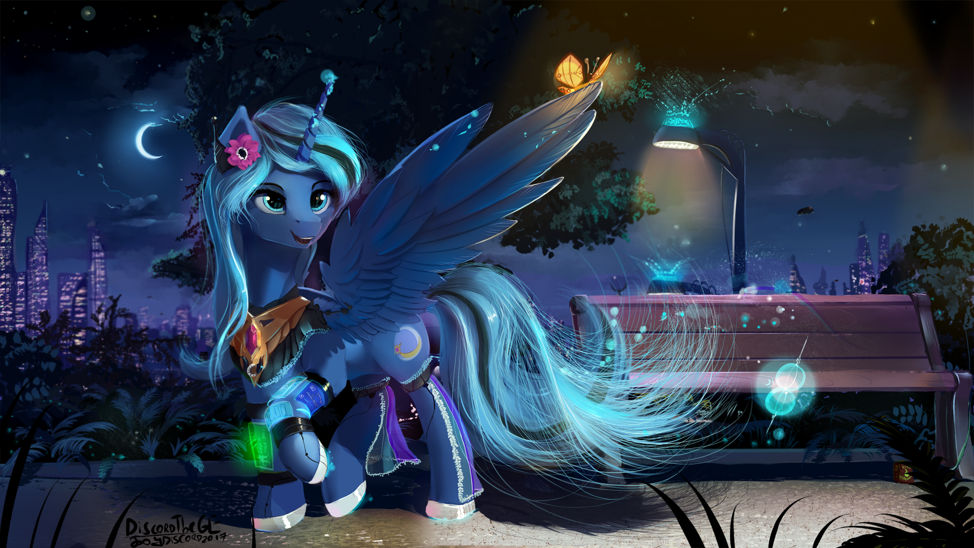 Moonlight Effect