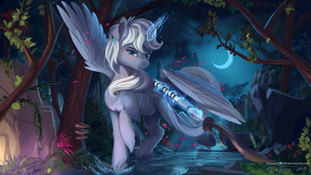 Keeper of moonlight by DiscordTheGE
