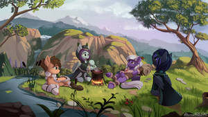 Wandering bat tribe