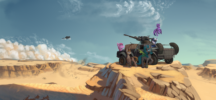 Apocalypse team (Illustration)