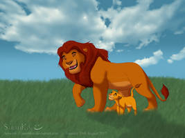 Royal Stroll | The Lion King by SarahKin