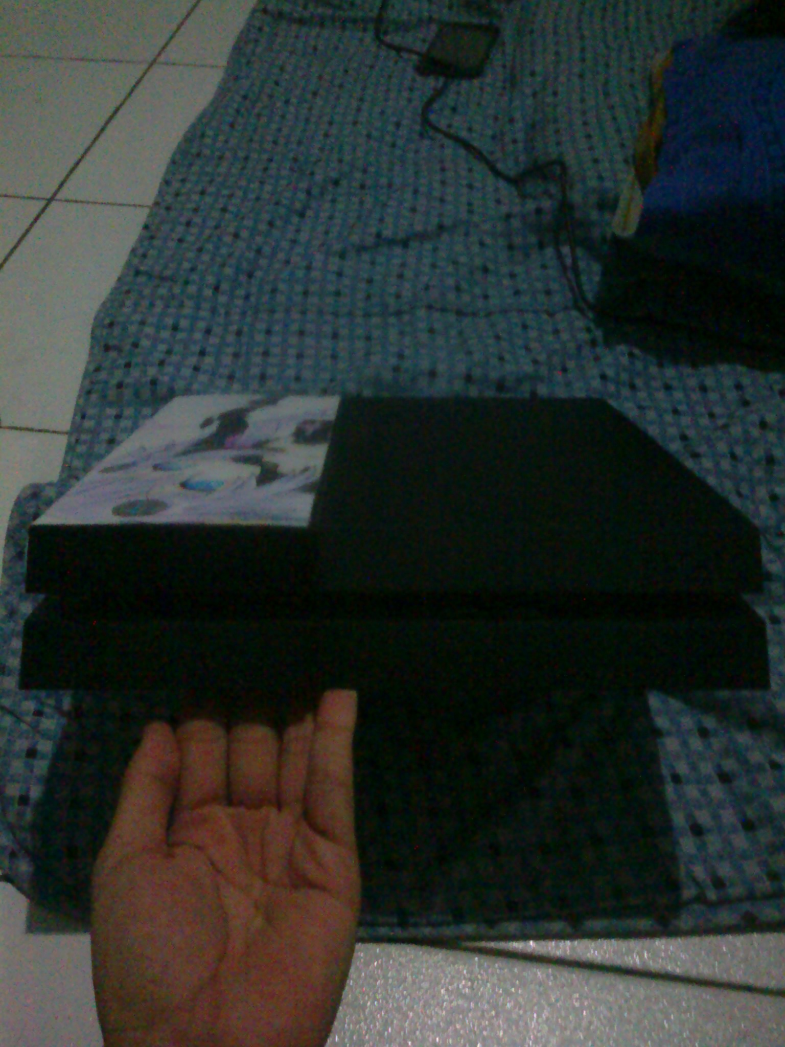 home-made ps4 skin